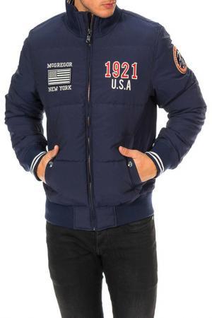 Куртка MCGREGOR. Цвет: синий