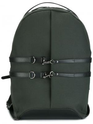 Рюкзак с ремешками Mismo. Цвет: зелёный