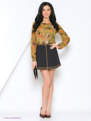 Блузка SEVONA. Цвет: бежевый