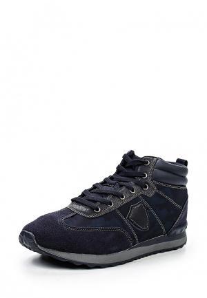 Ботинки Flair. Цвет: синий