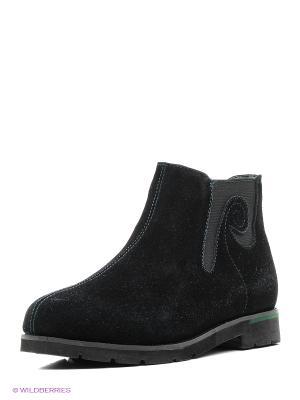 Ботинки Shoiberg. Цвет: зеленый