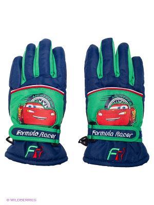 Перчатки Чудо-Кроха. Цвет: темно-синий, зеленый