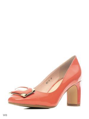 Туфли LIBELLEN.. Цвет: красный