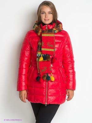 Куртка X'cluSIve. Цвет: красный