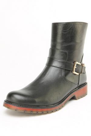 Ботинки OSSO. Цвет: черный