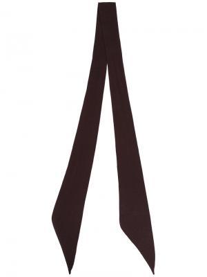 Тонкий платок Takahiromiyashita The Soloist. Цвет: коричневый