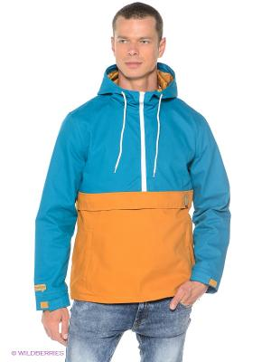 Куртка Cotton True Spin. Цвет: бирюзовый