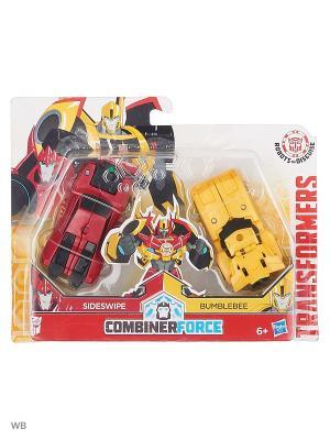 Трансформеры роботы под прикрытием: крэш-комбайнер Transformers. Цвет: красный, желтый