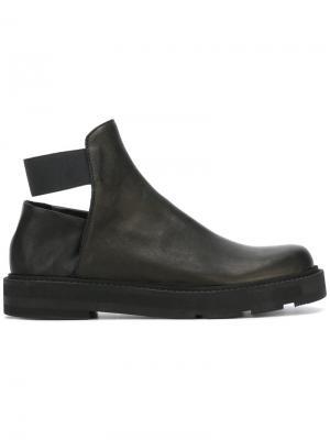 Ботинки с вырезом сзади Ld Tuttle. Цвет: чёрный