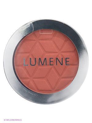 Шелковистые матовые румяна Lumene Touch of Radiance № 40 Коричневый, 4 г. Цвет: коричневый