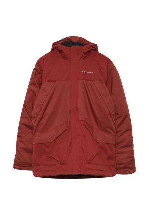 Куртка утепленная Columbia. Цвет: бордовый