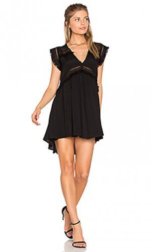 Мини платье xo Suboo. Цвет: черный