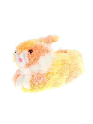 Тапочки домашние детские Migura. Цвет: оранжевый, розовый, желтый, белый, красный