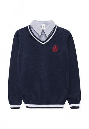 Пуловер Acoola. Цвет: синий