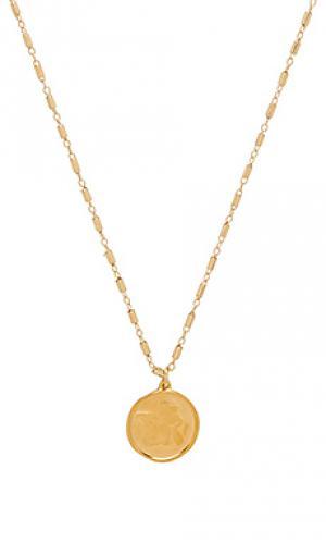Ожерелье raphael angel Natalie B Jewelry. Цвет: металлический золотой