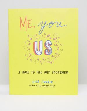 Books Me You Us. Цвет: мульти