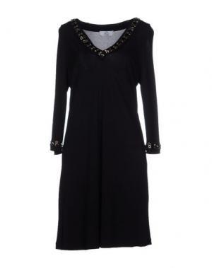 Короткое платье MON AMOUR. Цвет: черный
