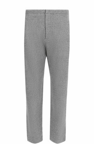Хлопковые брюки свободного кроя Rag&Bone. Цвет: серый