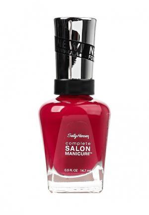 Лак для ногтей Sally Hansen. Цвет: бордовый