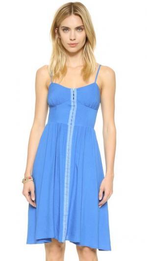 Платье Cannes dRA. Цвет: голубой сен-тропе