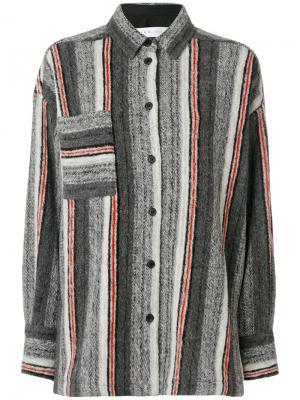 Вязаная рубашка Ramset Iro. Цвет: серый
