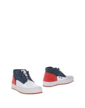 Полусапоги и высокие ботинки BARLEYCORN. Цвет: белый