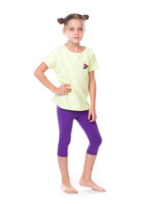 Бриджи Capri Kids Cuero. Цвет: фиолетовый