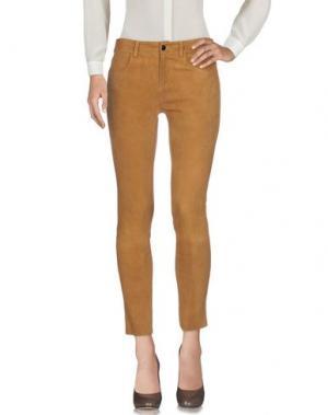 Повседневные брюки ENES. Цвет: верблюжий