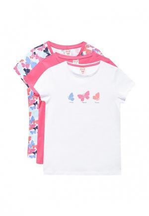 Комплект футболок 3 шт. Sela. Цвет: разноцветный