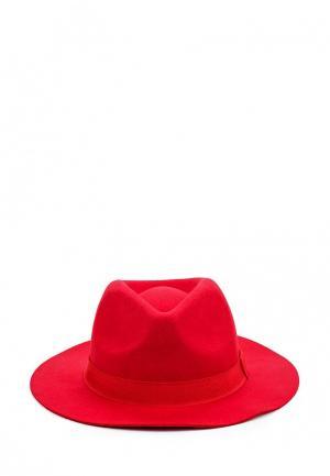 Шляпа United Colors of Benetton. Цвет: красный
