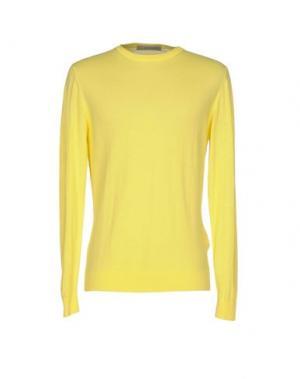 Свитер JEORDIE'S. Цвет: желтый