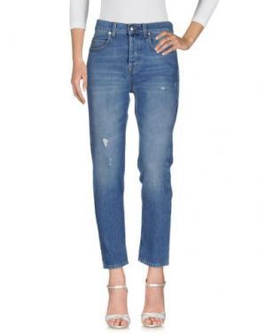 Джинсовые брюки McQ Alexander McQueen. Цвет: синий