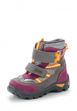 Ботинки Bartek. Цвет: серый