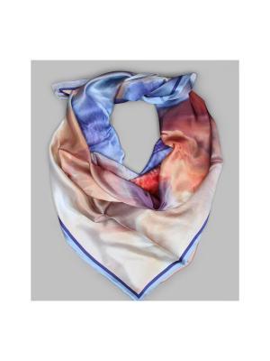 Арт-платок Блу шиммер Оланж Ассорти. Цвет: голубой