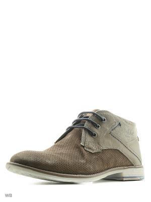 Ботинки S.OLIVER. Цвет: темно-бежевый