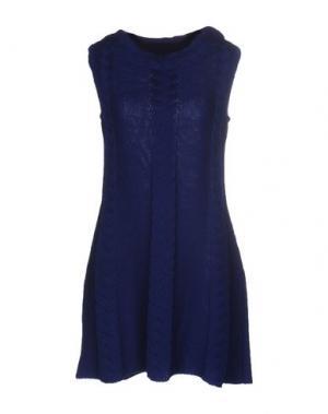 Короткое платье CHARLOTT. Цвет: темно-синий