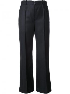 Прямые брюки Pia Nehera. Цвет: чёрный