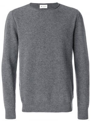Джемпер с круглым вырезом Dondup. Цвет: серый