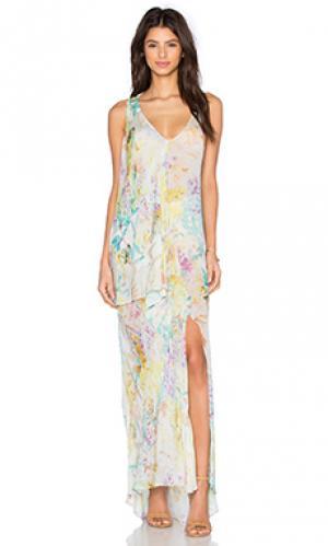 Макси платье botanic OLCAY GULSEN. Цвет: none