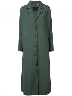 Single breasted trench coat Rachel Comey. Цвет: зелёный