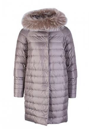 Куртка FONTANELLI. Цвет: серый