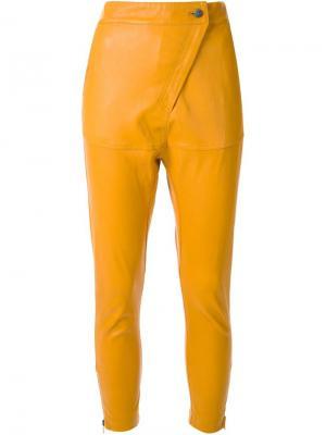 Брюки Turn Table Manning Cartell. Цвет: жёлтый и оранжевый