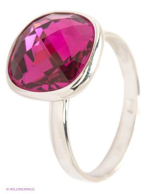 Кольцо SOKOLOV. Цвет: розовый