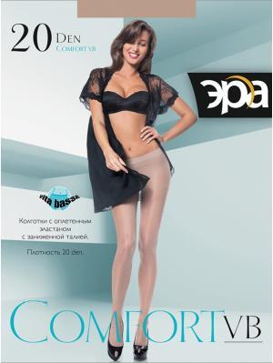 Колготки Comfort Vb 20 ЭРА.. Цвет: коричневый