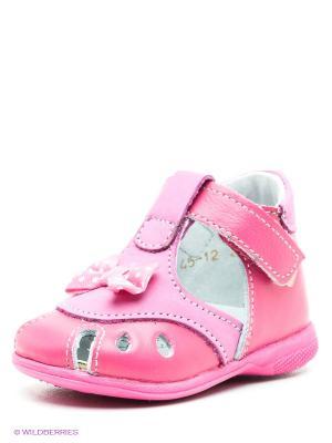 Сандалии Детский скороход. Цвет: розовый, сиреневый