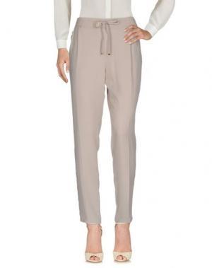 Повседневные брюки ANGELO MARANI. Цвет: светло-серый