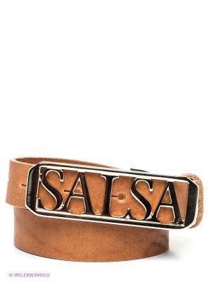 Ремень ADELAIDE Salsa. Цвет: светло-коричневый