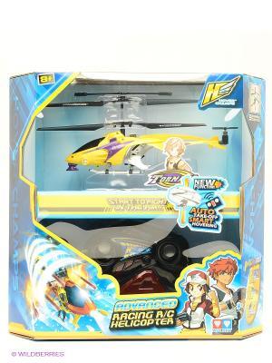 Радиоуправляемая игрушка Вертолет AULDEY. Цвет: желтый