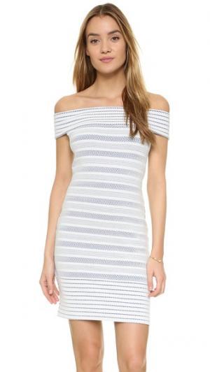 Платье Evan Shoshanna. Цвет: голубой