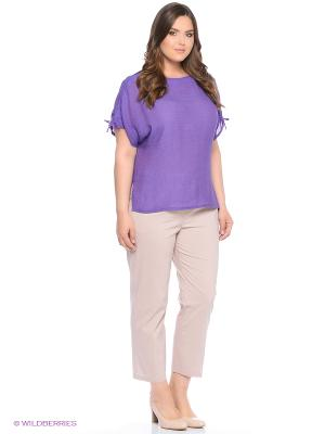 Блузка SVESTA. Цвет: фиолетовый